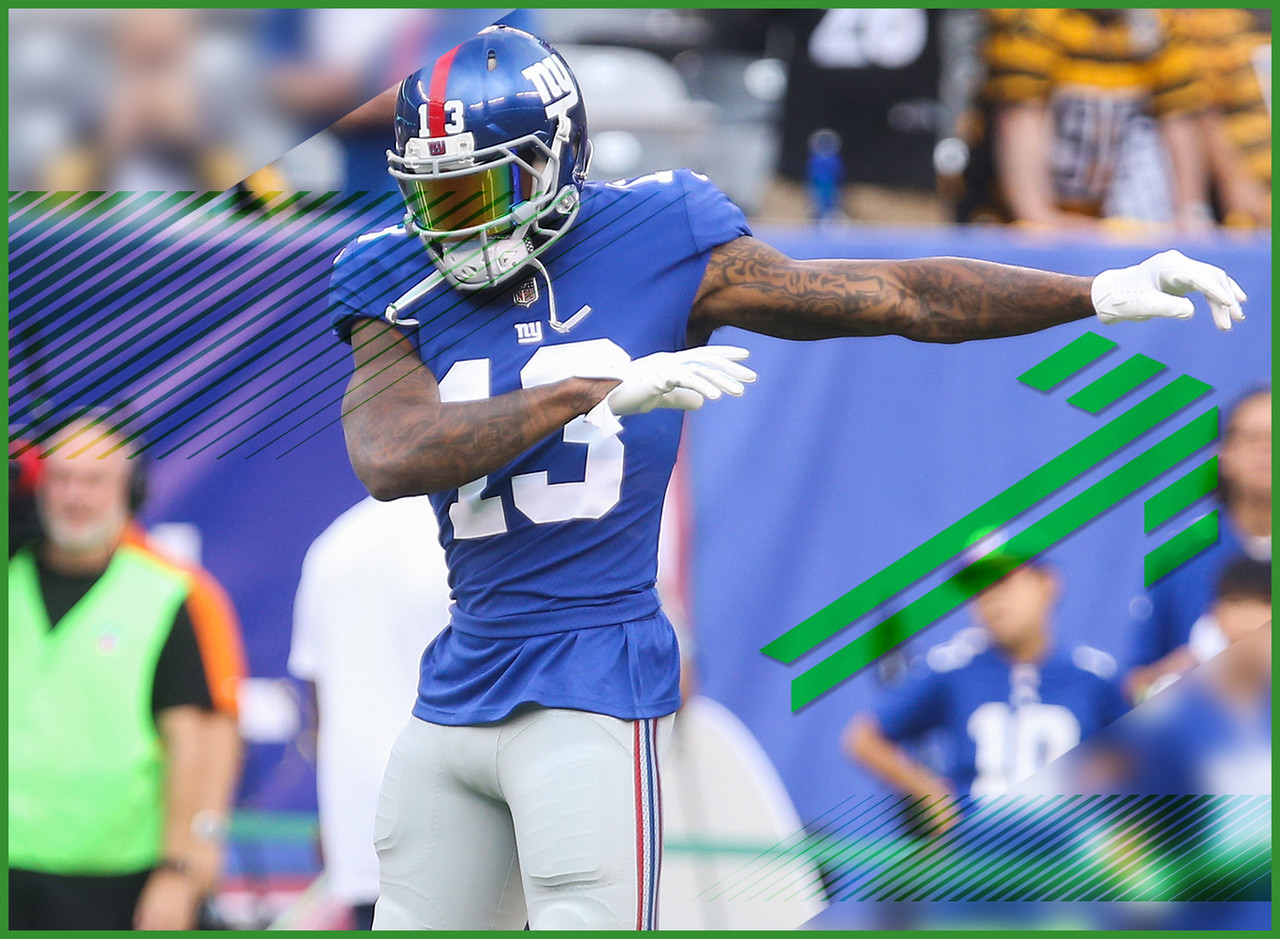 Becks is back! At least it looks that way. He was back on the field and progressing toward making his season debut this week against the Lions. Huzzah! The bad news (because The Watch offers equal doses of sobriety with joy) is that OBJ has said that he might still not be fully right for a few more weeks. Alas, Beckham at less than 100 percent is still a better option than lots of other receivers. I'm also not reading anything into his dance-off with Russell Westbrook. I'm just sad that we haven't seen video of it yet. The world needs this.