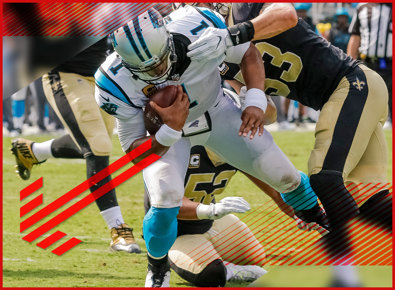 Newton compared his ability to run to the roar of a lion. Ever seen a lion after a tonsillectomy? That's what's happening in Charlotte with Ron Rivera admitting that Newton is running less by design this season. It was always a concern after Newton's litany of injuries last season as well as the additions of Christian McCaffrey and Curtis Samuel to the offense. But to hear it articulated by the head coach adds a new level of realness. Now you're looking at an inaccurate quarterback lacking solid outside receivers with a diminished ability to score points with his legs. But beyond that, it's all good.