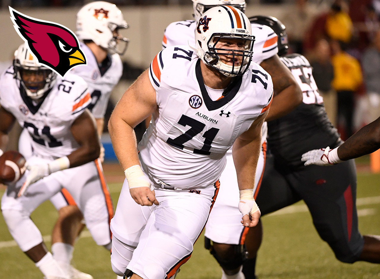 <b>Team fit:</b> Arizona Cardinals<br><br> The Cardinals need to find their next quarterback, and it won't be a surprise if they make that position the priority in the first round next year. They could look to replace free agents on the offensive line in the next couple of rounds with a strong, athletic player like Smith.