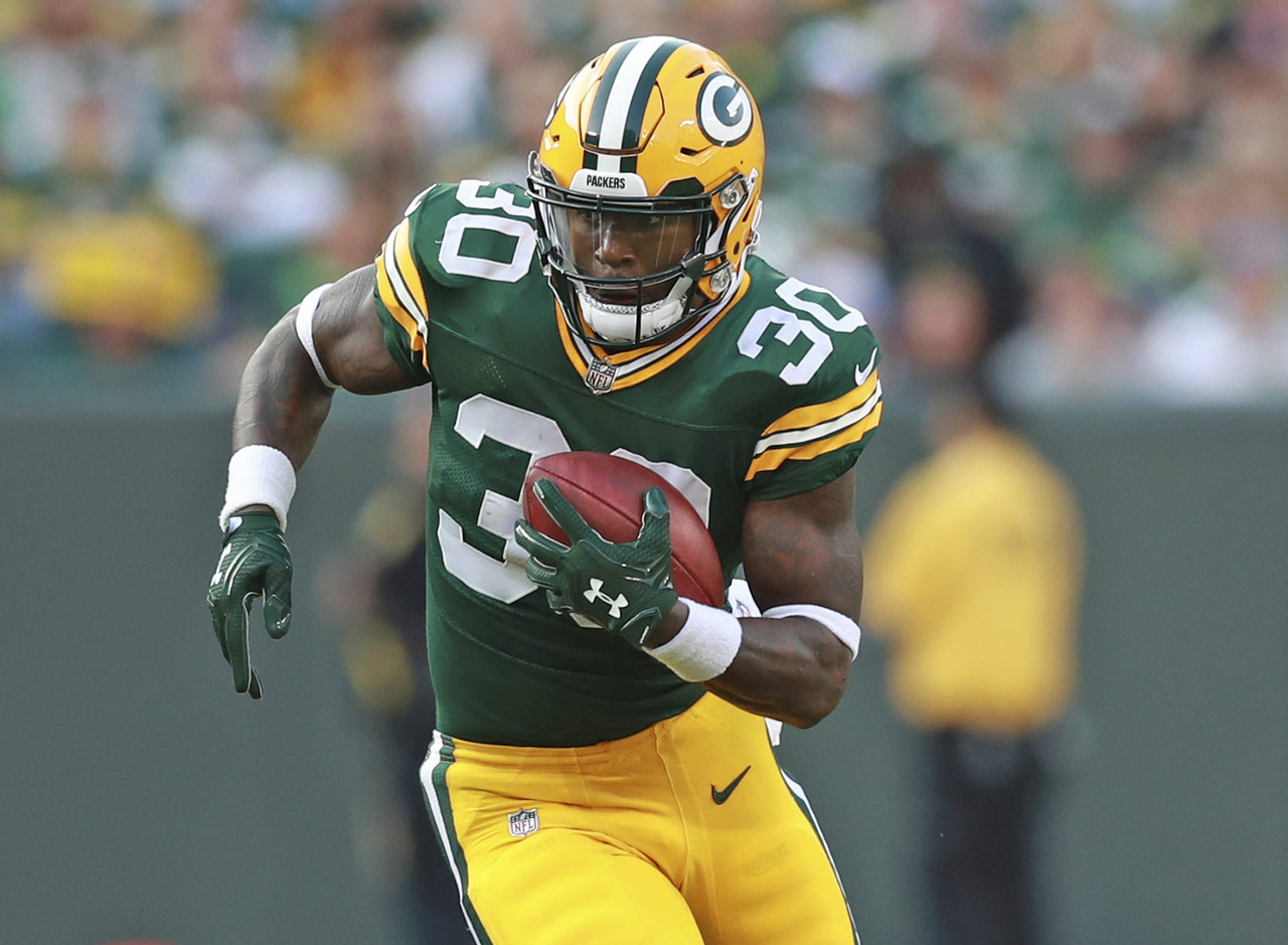 "Death, taxes and the #PackIRs. Three things we can count on each and every year. The Packers lost Aaron Jones to a knee injury and then backup Ty Montgomery was sidelined with a rib injury. That put fourth-round rookie Jamaal Williams into the spotlight, and he delivered just what the Packers needed. A power runner from BYU, Williams didn't put too many ""wow"" plays on tape, but he ground out tough yards and continuously moved the chains for this struggling offense. The exact nature and severity of the injuries to Jones and Montgomery aren't known at this point, but Williams could be set to inherit a sizable workload for the foreseeable future. Williams gets a tough draw facing the Ravens next week, who've allowed a whopping 90 yards on the ground to opposing running backs in their last two games, but volume is volume and Williams will be at worst a flex option. (Percent owned: 25.7, FAAB suggestion: 20-25 percent)"