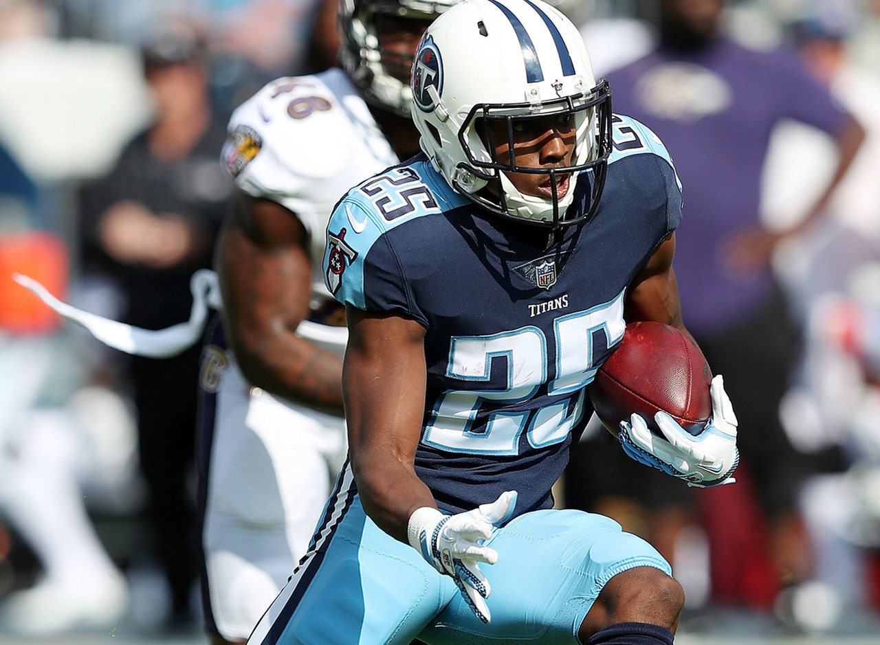Adoree' Jackson was the first-round pick by Tennessee Titans in 2017 NFL Draft (18th overall).Through just 9 career NFL games, Jackson has already shown his versatility. On defense, Jackson has 37 total tackles (1 tackle for loss), 9 passes defensed and one forced fumble, and on offense, he has 4 carries for 50 yards.  <br><br>  Notable Defensive Performance: (2016 - USC) 5 INT in his final season with the Trojans <br><br> Notable Offensive Performance: (2015 - USC) 3 receptions for 131 yards and 1 TD  <br><br> Notable Accolades at USC: 2016 First-Team All-American, 2016 Pat Tillman Defensive Player of the Year (Pac-12) and 2016 Jim Thorpe Award (nation's most outstanding defensive back)