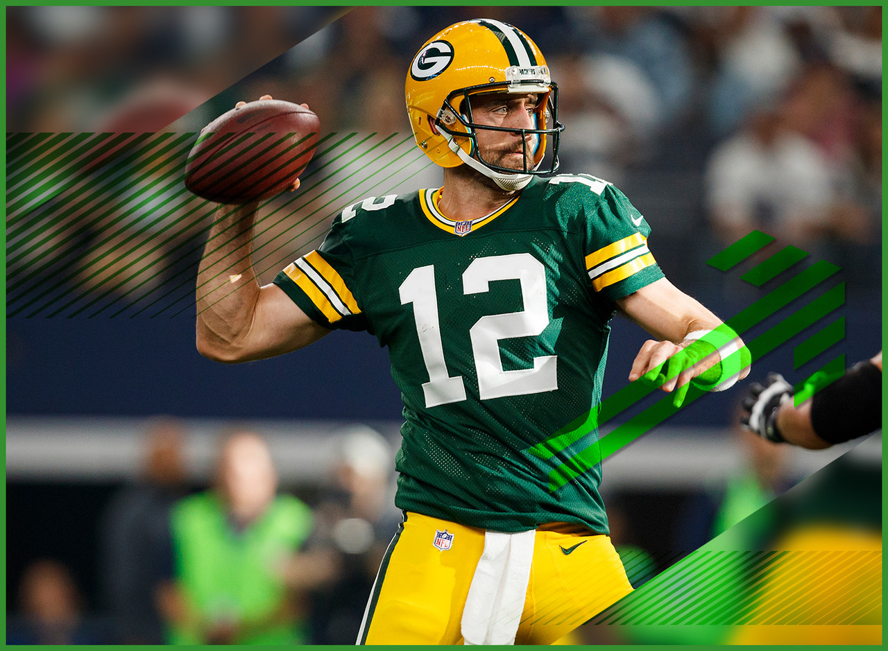 I'm not sure if you've heard but Aaron Rodgers is coming back to play for the Packers this week. I'm positive this is the first place you're hearing about this and you're wondering why no one else on the internet alerted you to this news earlier. Anyway ... yeah, he's back. If anyone can say they know if Rodgers is going to ball out this week, they're lying to you. He could be great. He could be rusty. You'll have to search your feelings to know if starting him this week is the right move for you.