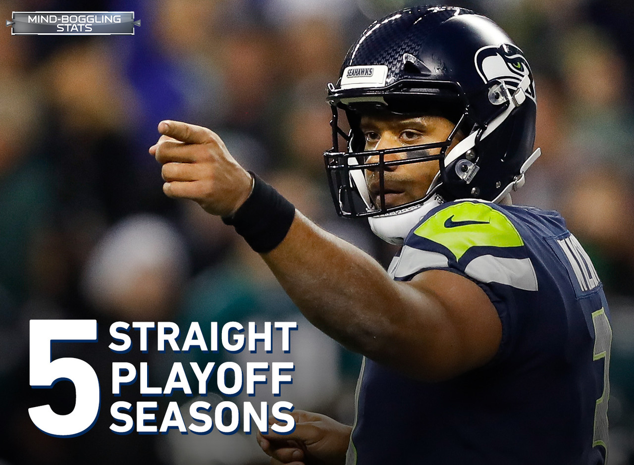 Coming into the 2017 NFL Season, the Seattle Seahawks have made the playoffs in five straight seasons – the second longest active streak. With a win over the Cardinals AND a Falcons loss, the Seahawks will be extending that streak to six.