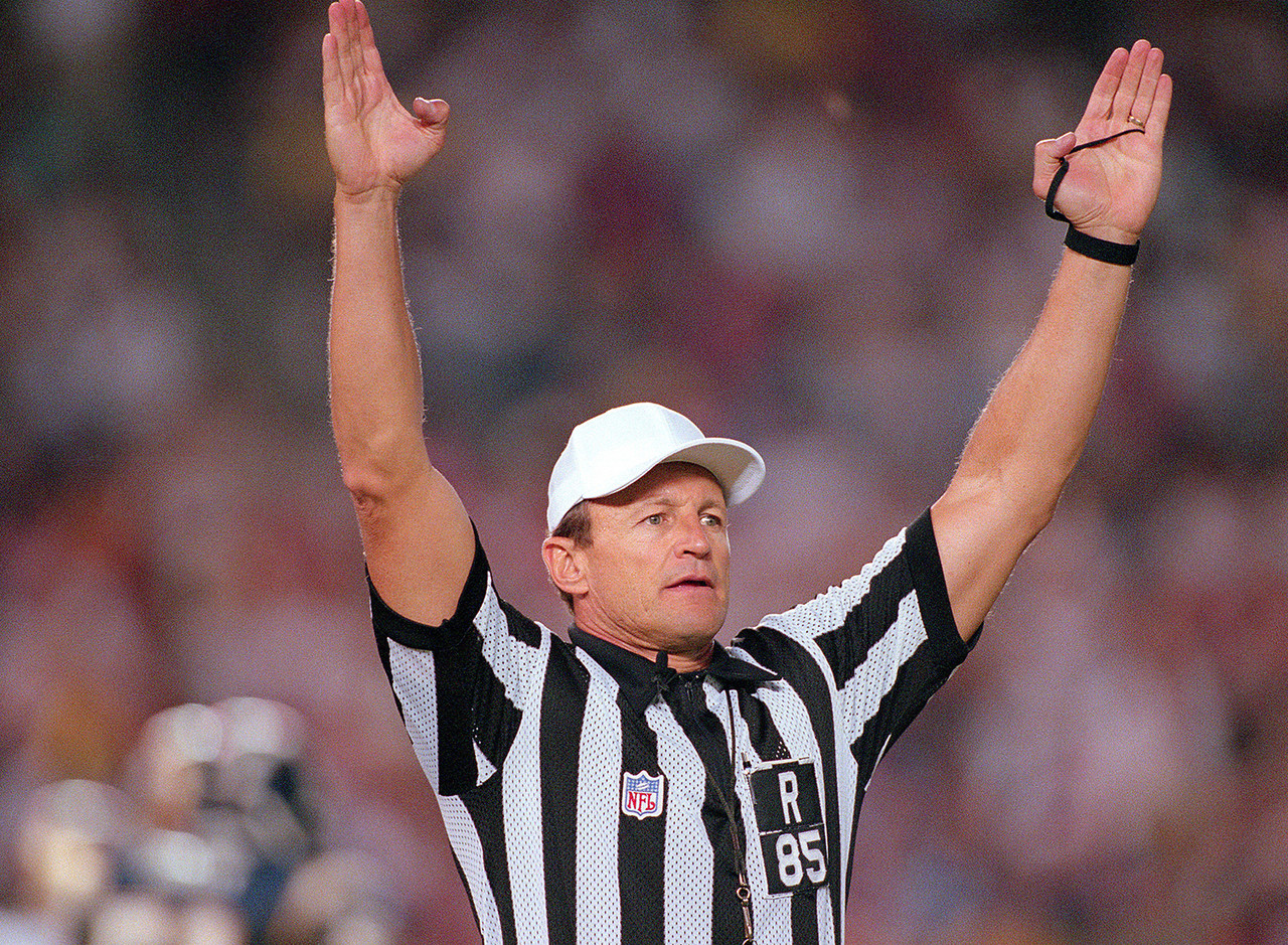 Ed Hochuli Through The Years Nfl Com