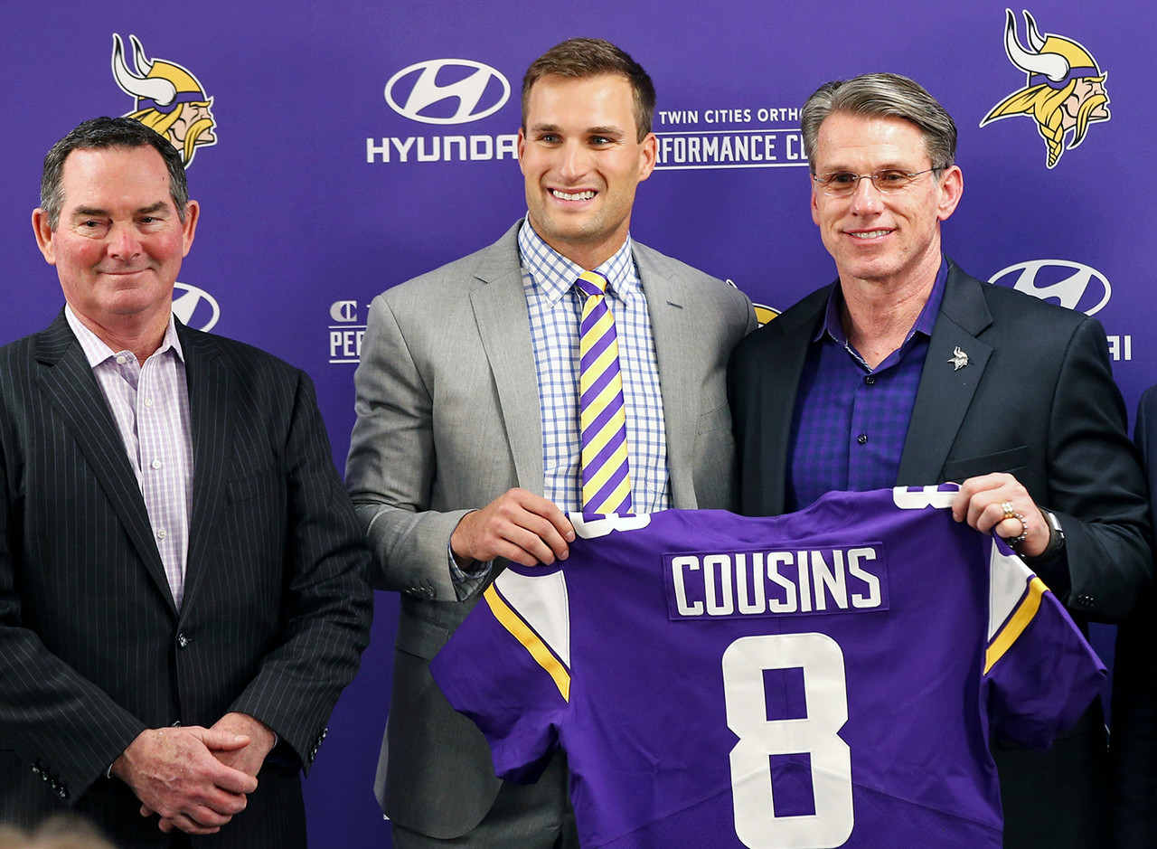 Cousins is the lone quarterback to finish in the top six in fantasy points in each of the last two seasons, yet he's still on the board in the final five to six rounds of most drafts. He should sustain that level of production in Minnesota, where he inherits a ton of talent in Dalvin Cook, Adam Thielen, Stefon Diggs, and Kyle Rudolph. The Vikings had just 20 dropped passes (tied for third-fewest) as a team all of last season.