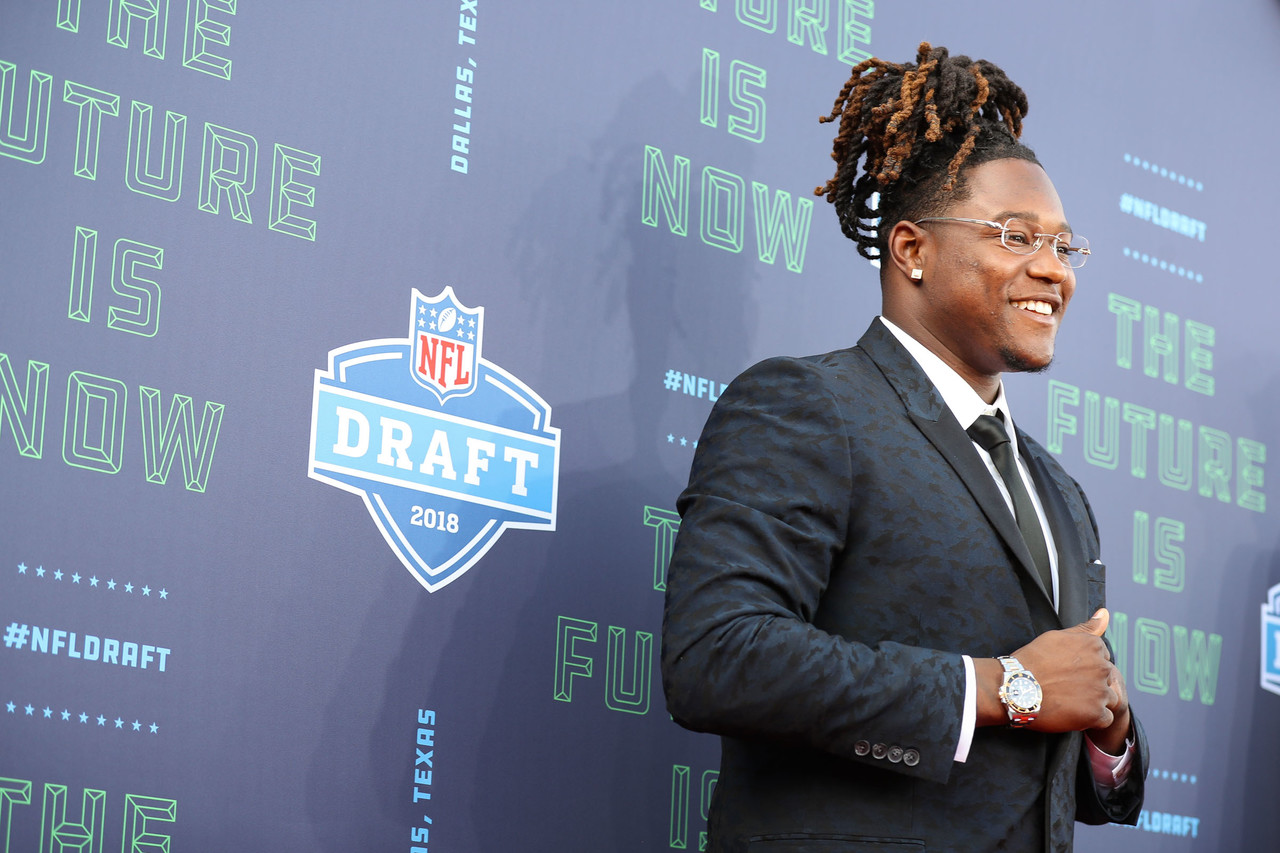 Central Florida linebacker Shaquem Griffin poses for a photo.