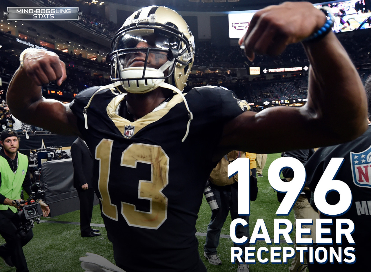 Thomas has 196 career receptions since entering the NFL in 2016. That is the most receptions by a player in his first two seasons in NFL history. <br> <br>  In 2017, Thomas joined Antonio Brown and Keenan Allen as the only players with at least 100 receptions and 1,200 receiving yards.