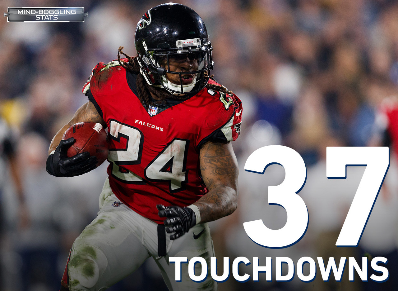 Freeman has been a scoring machine for the Falcons since he entered the NFL in 2014. His 37 scrimmage touchdowns are the most by a Falcons player in his first four seasons in team history.   Freeman also joins Todd Gurley as the only two players in the NFL with at least 3,000 rushing yards and 30 touchdowns over the last three seasons.