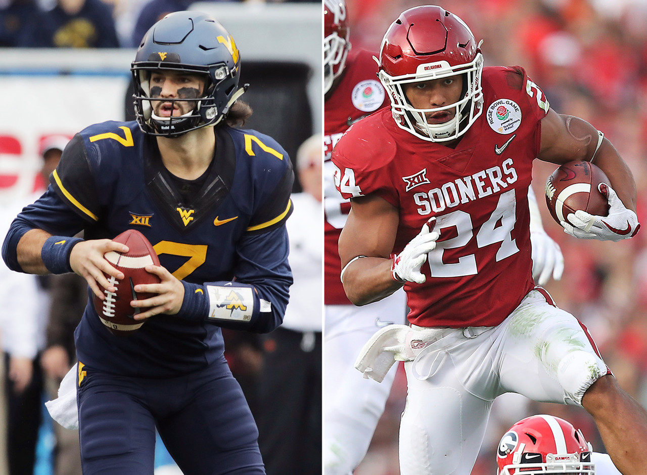 <b>Matchup to watch:</b> Oklahoma WR Marquise Brown vs. West Virginia CB Hakeem Bailey.<br><br> The offensive firepower that will take the field here foretells a classic Big 12 shootout. The host Mountaineers will feature one of the most prolific pass combinations in the nation in Heisman Trophy contender Will Grier at QB, and WR David Sills V. The Sooners have a star RB in Rodney Anderson, who was unstoppable over the second half of last season. QB Kyler Murray, who is expected to replace Baker Mayfield, is a dynamic athlete, although his pro baseball future makes his status as a draft prospect unclear. He's signed as a first-round MLB pick with the Oakland A's, but intends to direct the Sooners offense this fall.