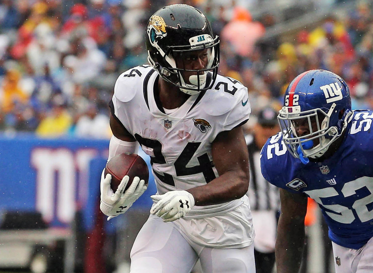 The Jaguars lost Leonard Fournette to an injured hamstring in their opener, which created a chance for T.J. Yeldon to shine. He went on to finish with seven targets (three catches) while also leading the backfield in touches and snaps (65 percent). If Fournette is forced to miss time due to his ailment, Yeldon would be on the fantasy radar as a potential flex starter in Week 2 against the New England Patriots.