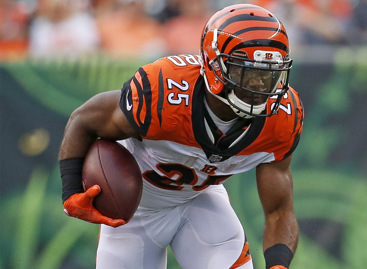The Bengals have lost Joe Mixon (knee) for the next 2-4 weeks, so Bernard is set to become the most popular add in fantasy football. While the team will also sprinkle rookie Mark Walton into their backfield mix, Bernard will be the team's new featured back for all intents and purposes. A versatile vet who was solid in a featured role last season, Bernard should be your top waiver-wire target this week.