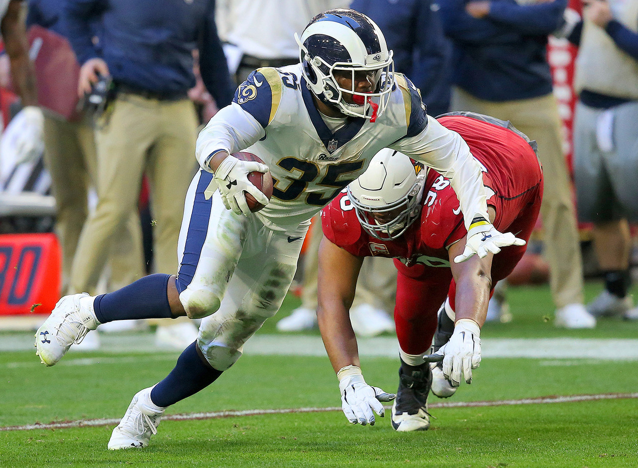 The most obvious Week 17 add. Without Todd Gurley (knee) last week, Anderson promptly ripped the Cardinals for 20/167/1 on the ground while playing on 75 percent of Rams' snaps. San Francisco has played competitive ball all season long despite being essentially eliminated from the playoffs after Jimmy Garoppolo's (knee) injury, but the Rams should take care of business at home versus the 'Niners in the season finale.