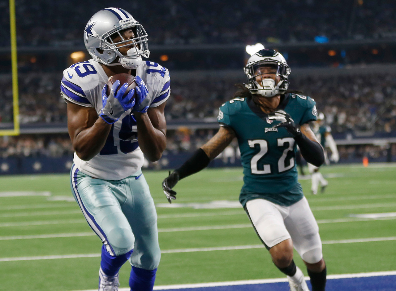 """People were still not quite convinced that these Cowboys were for real, even though they had been rolling since acquiring Amari Cooper from the Raiders, riding a four-game win streak into this Sunday afternoon bout. Trading a first-rounder for Cooper was a bold move panned by many -- myself included. And when the 'Boys rolled into Philadelphia, most expected the defending champions to get back into the NFC East title hunt and the Cowboys to, you know, take the Cowboy way out. Yeah ... Cooper caught 10 passes for 217 yards and three (THREE) touchdowns. The final one of those scores came in overtime, after Dallas received the kickoff and took nearly the entire period to move down the field before Dak Prescott """"connected"""" with Cooper. I mean, should it have been a pick-six for the Eagles? Sure. But it wasn't, so ... scoreboard, Cowboys."""