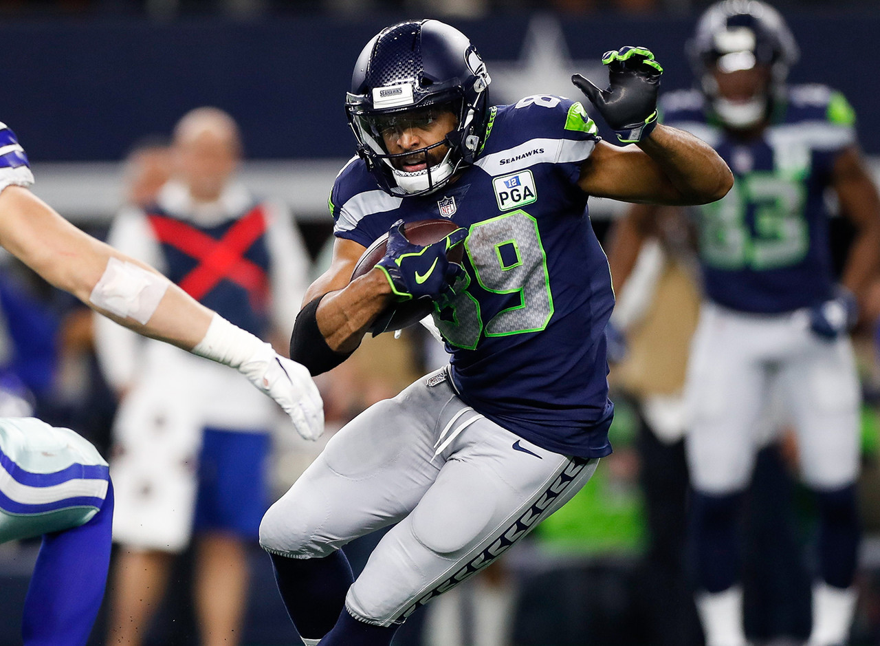 "<b>College:</b> Stanford <br><b>Draft:</b> 2011, undrafted <br><br> The Seahawks picked up Baldwin as an undrafted free agent after he posted a breakout senior season for the Cardinal in 2010. The club liked him enough to sign him to<a href=""http://www.nfl.com/news/story/0ap3000000671931/article/doug-baldwin-signs-4year-extension-with-seahawks"" target=""_self""> three contracts</a>, the last of which netted him more than $24 million in guaranteed money. He's now spent eight seasons in Seattle and has averaged more than 100 receptions over the last five seasons."