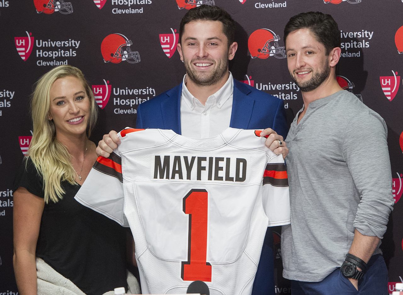 <b>Drafted by:</b> Cleveland Browns, 2018.<br /> <br /> Between Mayfield's precocious attitude, his late-season icing out of Hue Jackson and the Browns' return to viability, it felt like no one talked enough about the progressive development of Baker Mayfield throughout the 2018 season. The former Heisman Trophy winner showed he could get the ball out quickly while often displaying tremendous accuracy. Mayfield still has a long way to go to truly become a franchise quarterback, but going 6-7 as a starter for a team that went 1-31 the previous two seasons bears noticing. Moreover, the gutsy rookie logged three fourth-quarter comebacks.