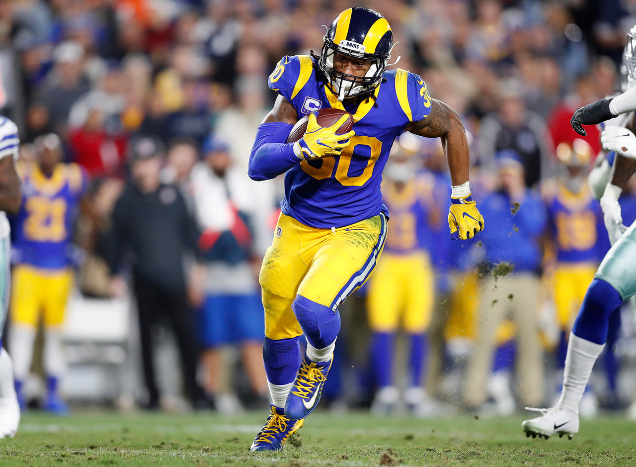 I'm not ready to drop Gurley in my rankings simply because the Rams traded up to draft Darrell Henderson, an explosive runner out of Memphis. That might change as we get into the summer months, but for now I fully expect Gurley's knee to be a non-issue and continue his role as a featured back.