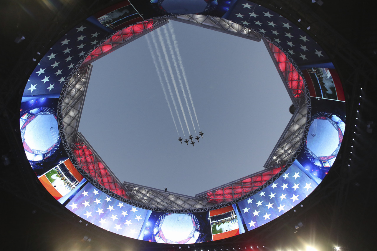 The Art Of The Flyover Nfl Com