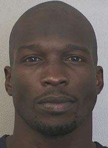 Chad Johnson was arrested on a domestic violence charge Saturday night at his home in Davie, Fla. (Broward County Sheriff's Office)