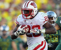 Wisconsin's Montee Ball has a lot to live up to after a dazzling 2011.