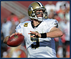Drew Brees has added responsibility as a team leader for the Saints this season.