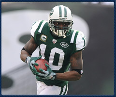 Santonio Holmes' time with a 