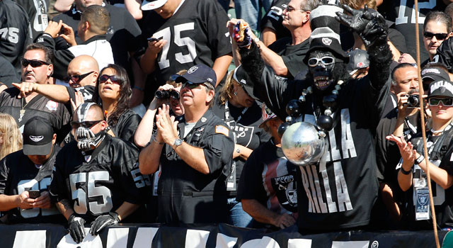 Raiders Beef Up Security To Make Black Hole Safer Nfl Com