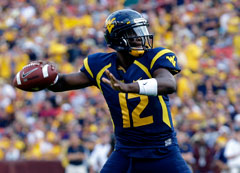 Geno Smith is turning heads as a dual-threat quarterback prospect.