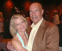 Andrea Kremer and Steve Sabol worked together at NFL Films from 1984 to 1989.