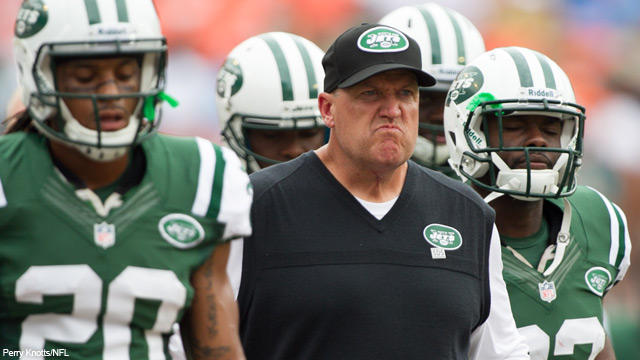 Rex Ryan Has A Funny Mad Face Nfl