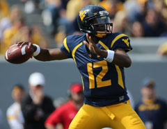 West Virginia's Geno Smith continues to impress, especially with his accuracy.