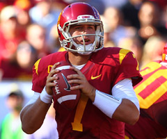 USC's Matt Barkley entered this season as the Heisman Trophy favorite, but a loss to Stanford hurt his campaign.