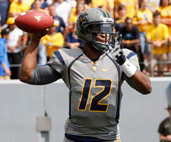 West Virginia's Geno Smith has thrown 20 touchdown passes -- and zero interceptions -- in four games this season.