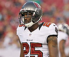 Tampa Bay Buccaneers cornerback Aqib Talib has been suspended four games by the NFL for testing positive for Adderall. (Kim Klement/US Presswire)