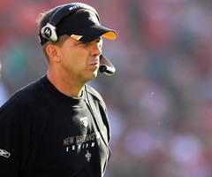 Sean Payton's future with the New Orleans Saints remains unclear.