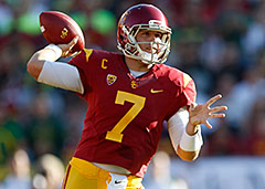 Nobody has been more widely scrutinized this season than USC quarterback Matt Barkley.