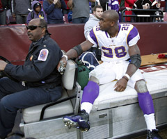 Few would have predicted the path Adrian Peterson would take after being carted off the field last season.