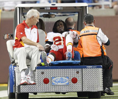 Jamaal Charles says a fear of never playing again motivated him to get healthy.