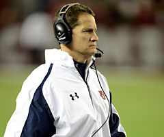 Gene Chizik went 33-19 in four seasons as Auburn's coach and won a national championship in 2010.