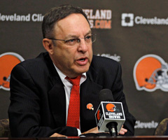Joe Banner was hired in mid-October, charged with rebuilding the Browns franchise.