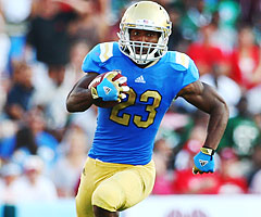 UCLA running back Johnathan Franklin has eclipsed 160 yards rushing in six different games this season.