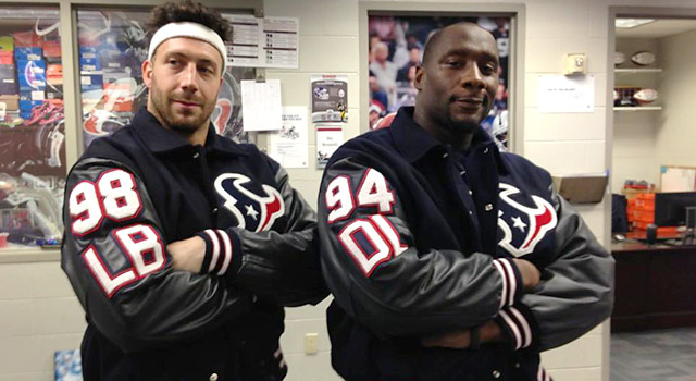 sports shoes a4b5c 258a3 Houston Texans bust out snazzy letterman jackets | NFL.com