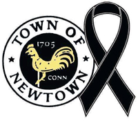 he New England Patriots will wear a decal Sunday in memory of those killed in the mass shooting at Sandy Hook Elementary School in Newtown, Conn.