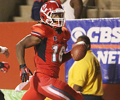 Fresno State senior Phillip Thomas should be one of the top safeties selected in the 2013 NFL Draft.