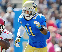 UCLA outside linebacker Anthony Barr recorded 13.5 sacks in his junior campaign.