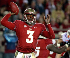 Florida State QB E.J. Manuel must demonstrate that he can handle the pressure of a big game.