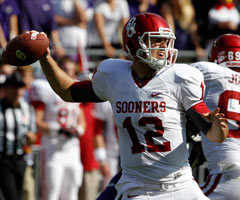 Oklahoma QB Landry Jones can still emerge as a viable prospect.