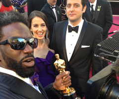 Ed Reed was on the Oscars red carpet Sunday.