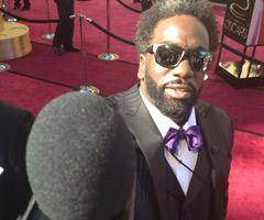 Baltimore Ravens safety Ed Reed served as Oscars red-carpet correspondent for