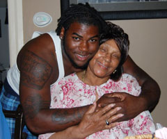 Floyd made it his mission to help his grandmother, Lucille Ryans, yearning to provide her with a better life.