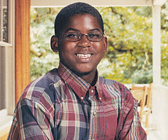 Floyd was bullied as a boy before gaining confidence in himself through football.